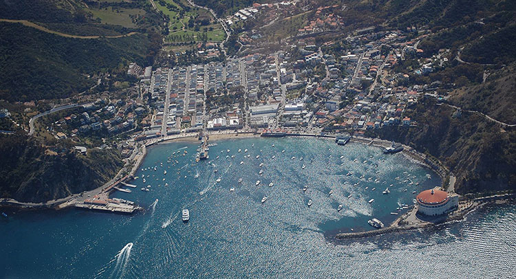 Avalon Harbor; Catalina Island; Avalon; California